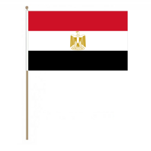Egypt Country Hand Flag - Large.